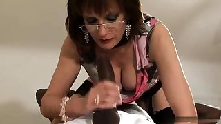 Matured and busty amateur wife blowjob and anal creampie