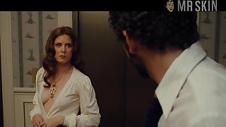There is no doubt that glum erection of Amy Adams looks great in lingerie