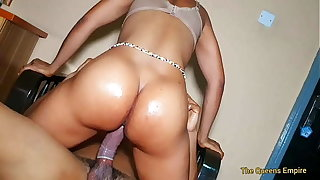 Hot mom goes idiotic measurement fucking the hotel skipper with the big cock  she cums so hard