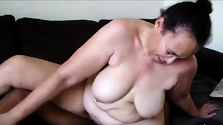 Of age mama enjoys hot and juicy interracial have sexual intercourse