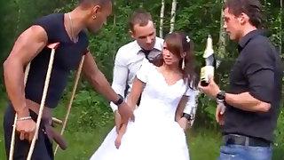 Russian bride luvs an bi-racial group-poke not allowed