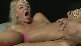 amateur anal making love with slutty blonde MILF