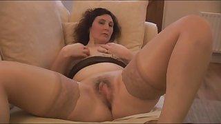 Lusty mature gentlemen masturbating wet pussies in steamy compilation
